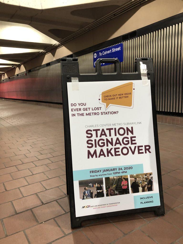 MTA Station Signage Poster
