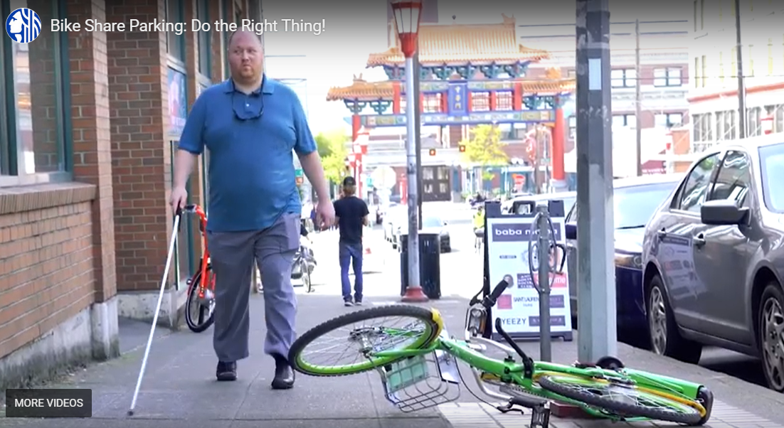 Importance of Highlighting the importance of bikeshare parking for accessibility