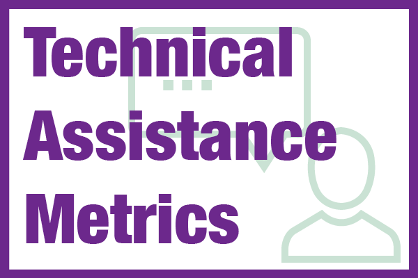 NCMM Technical Assistance Metrics