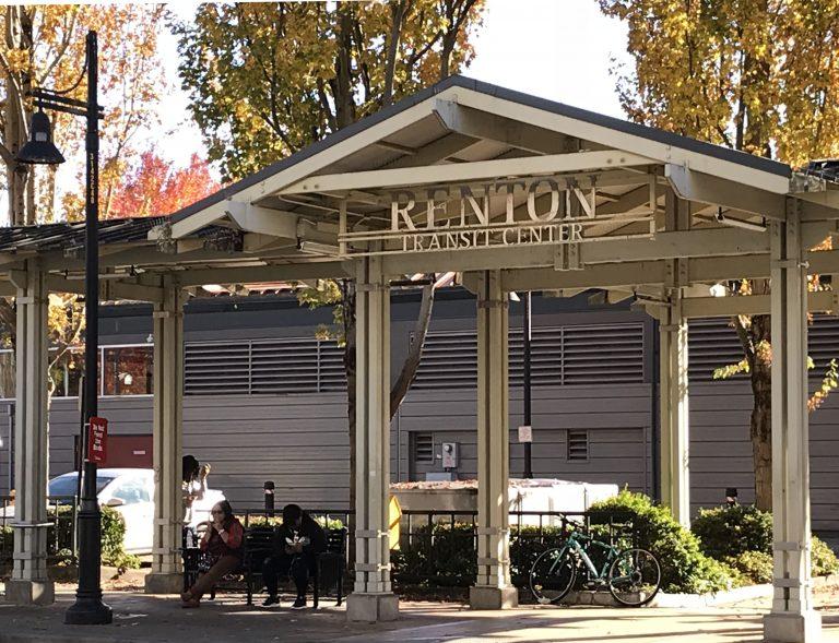 Downtown Renton, Washington's Transit Center