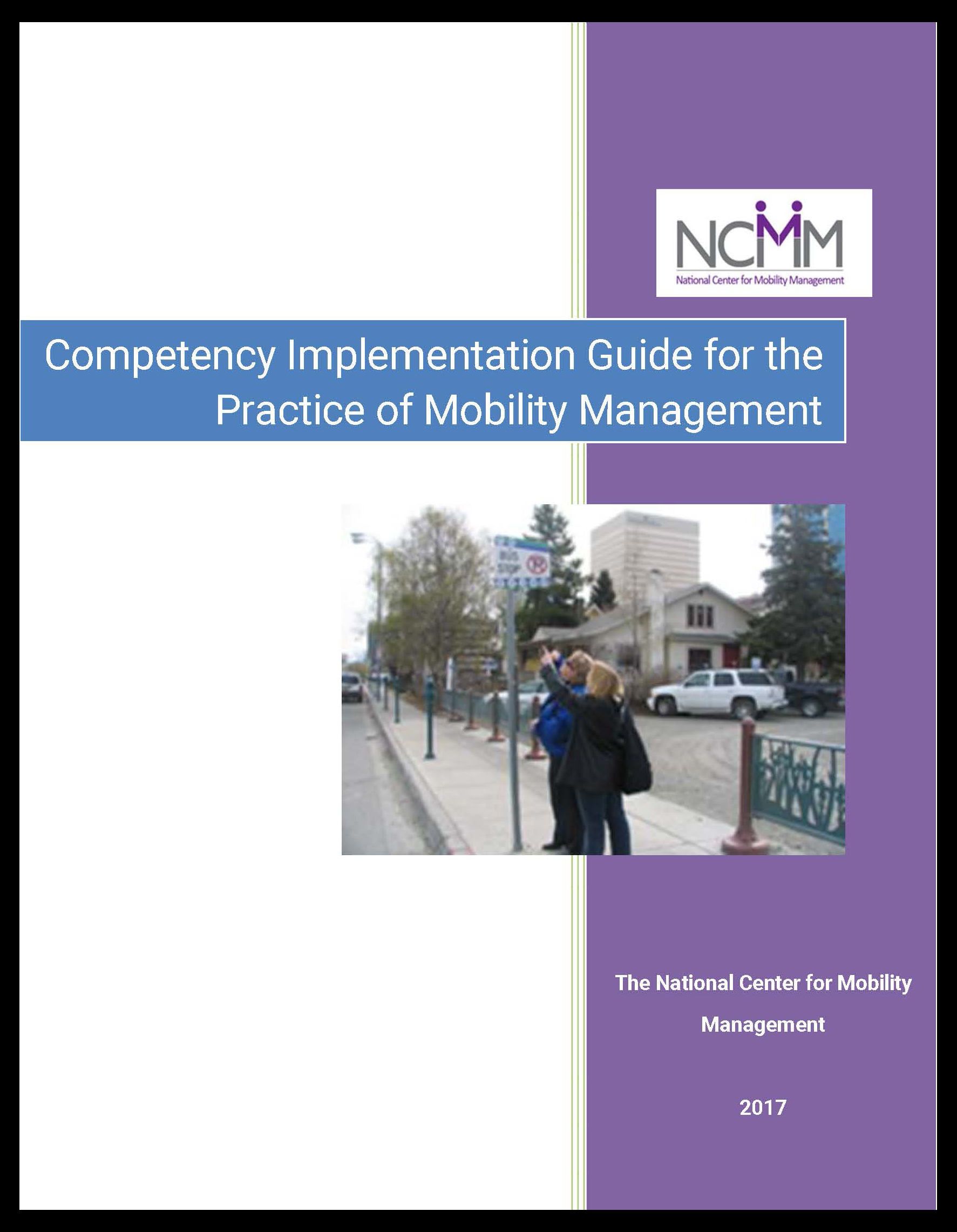 Front cover of Mobility Management Competencies Guide